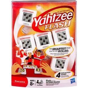 NWT Hasbro Electronic Yahtzee Flash Game